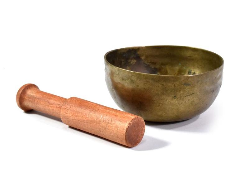 """Tibetská mísa, antik, """"Old Jambati"""", průměr 10cm"""