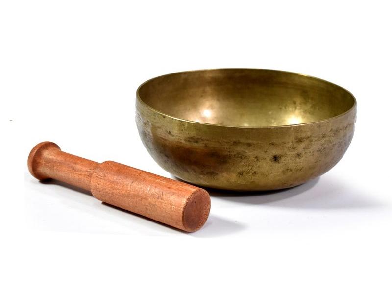 """Tibetská mísa, antik, """"Old Jambati"""", průměr 14cm"""