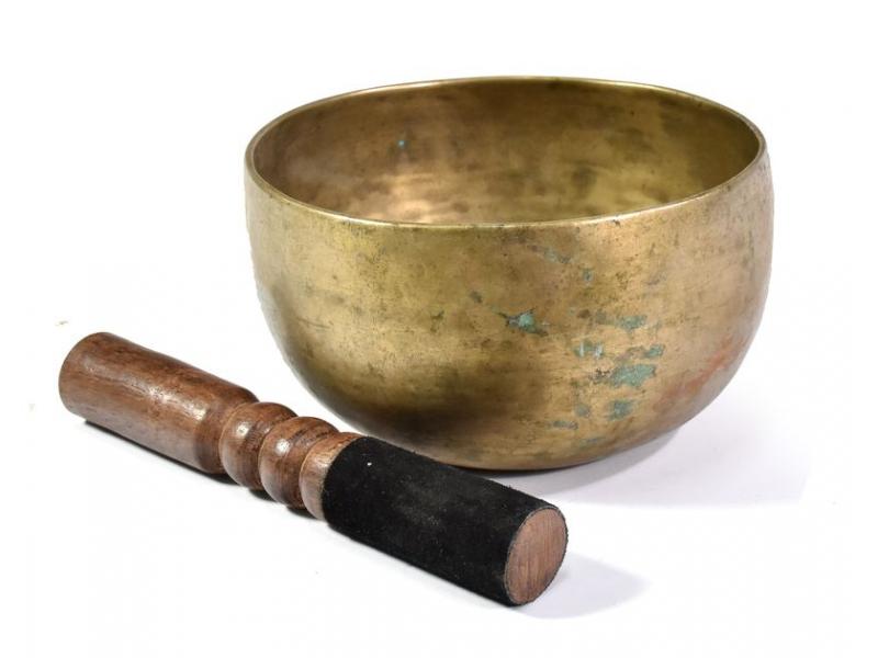 """Tibetská mísa, antik, """"Old Jambati"""", průměr 16cm"""