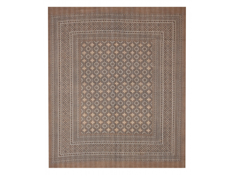 Přehoz na postel, prošívaný, blockprint, ruční práce, 260x220cm