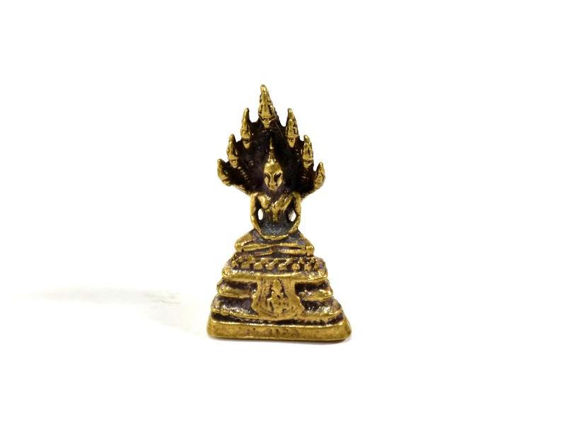 Soška Buddha, mosaz, 3,5cm