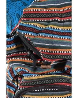 Batoh, ghari, barevný, stahovací, 3 kapsy, 40*40cm