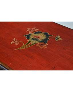 Komoda se šuplíky v tibetském stylu z mangového dřeva, 76x36x76cm