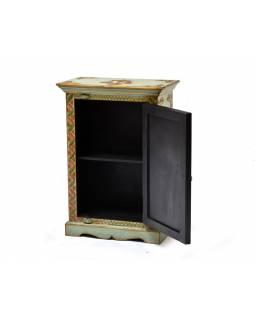 Skříňka v tibetském stylu z mangového dřeva, 54x30x76cm