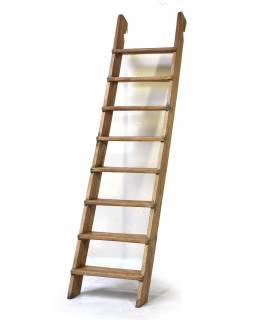 Antik schody z teaku, 60x16x263cm