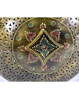Kovová váza, ručně malovaná, 35x45x25cm