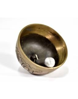 Zvonek na jaky, relief draků, průměr 9cm
