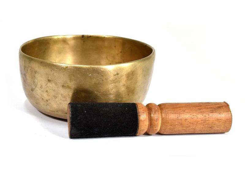 """Tibetská mísa, antik, """"Old Jambati"""", průměr 12cm"""