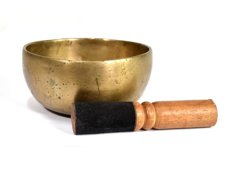 """Tibetská mísa, antik, """"Old Jambati"""", průměr 13cm"""