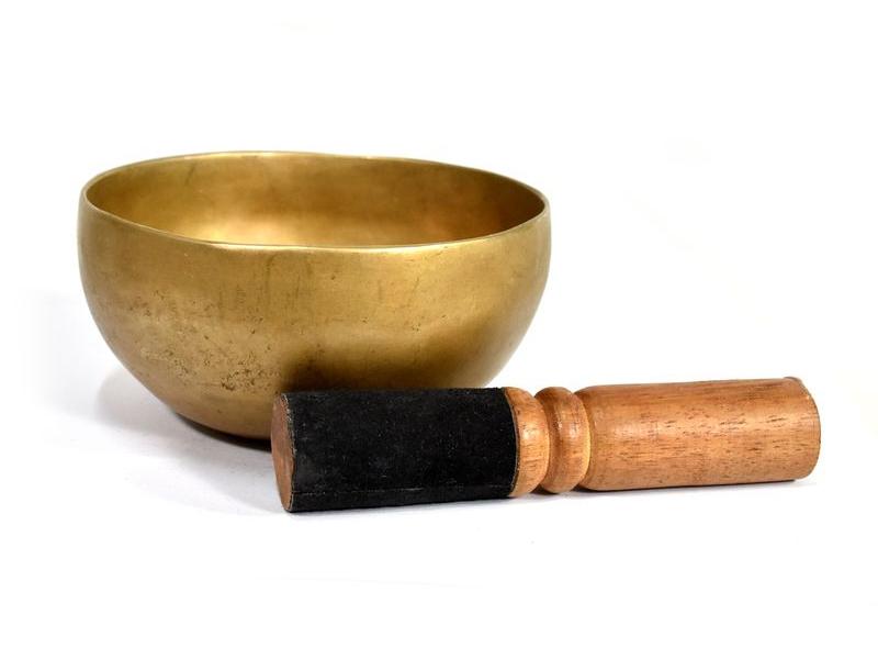 """Antik tibetská mísa, """"Old Jambati"""", průměr 12cm"""