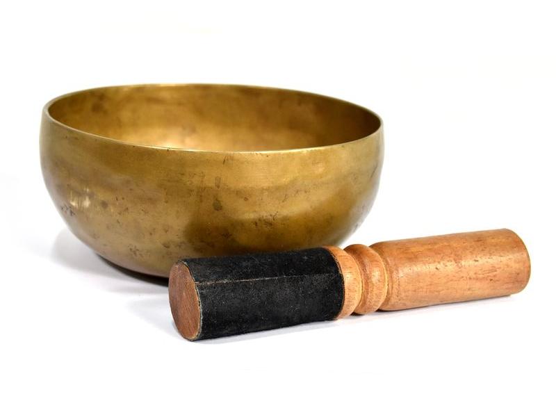 """Antik tibetská mísa, """"Old Jambati"""", průměr 13cm"""