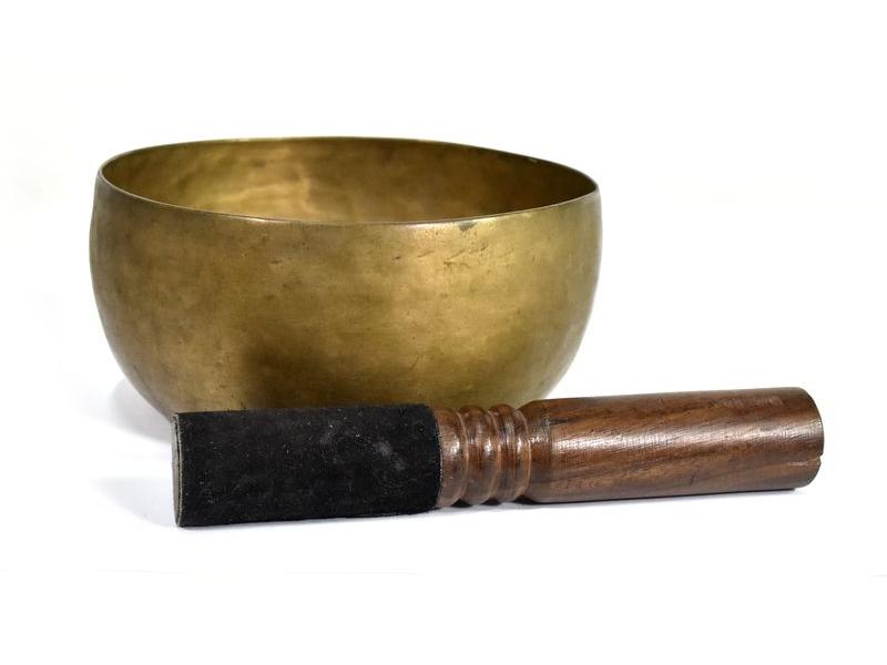 """Antik tibetská mísa, """"Old Jambati"""", průměr 16cm"""