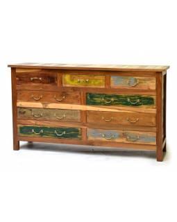 """Komoda z teakového a mangového dřeva, """"Goa"""" design, 160x40x90cm"""
