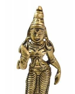 Parvati, mosazná soška, 9cm