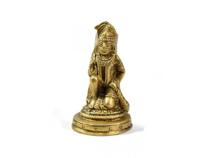 Hanuman, mosazná soška, 7cm