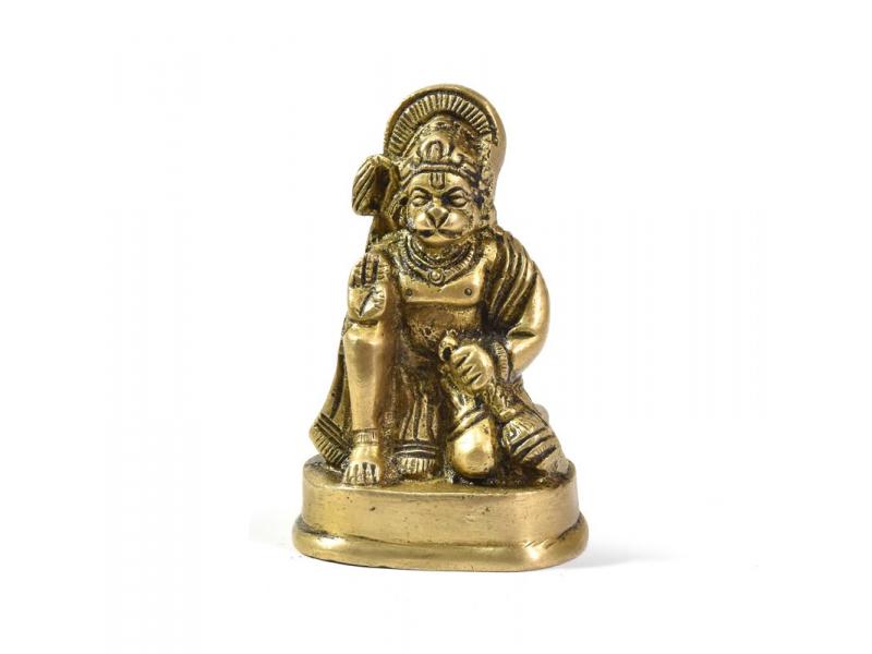 Hanuman, mosazná soška, 6cm