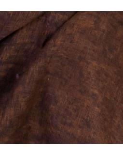 """""""Tibetský šál"""", černo-hnědý melír, acrylic, 200x80cm"""