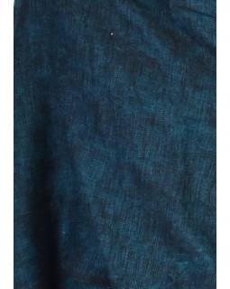 """""""Tibetský šál"""", zeleno-černý melír, acrylic, 200x80cm"""