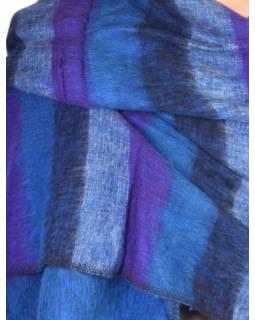 """""""Tibetský šál"""", pruhovaný, acrylic, 180x80cm"""