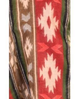 Šál - Toltécký vzor, 205x95cm