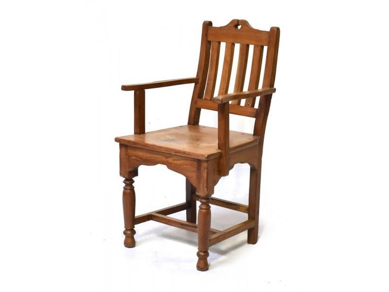 Stará židle z teakového dřeva, 51x48x87cm