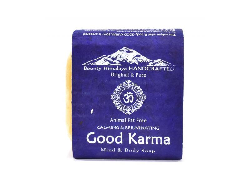 Ručně vyráběné mýdlo z Himálaje, dobrá karma, 100g