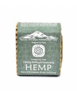 Ručně vyráběné mýdlo z Himálaje, konopí, 100g