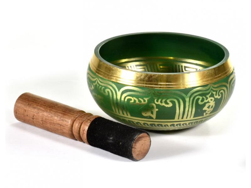 """Tibetská mísa, """"Bronze Thado Bati"""", barvená, průměr 11cm"""
