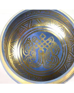 """Tibetská mísa, """"Bronze Thado Bati"""", barvená, průměr 12cm"""