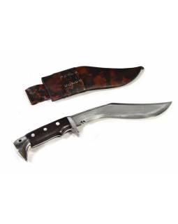 """Khukri nůž, """"Chakuri"""", 10"""", dřevěná rukojeť, nůž 38cm, čepel 25cm"""