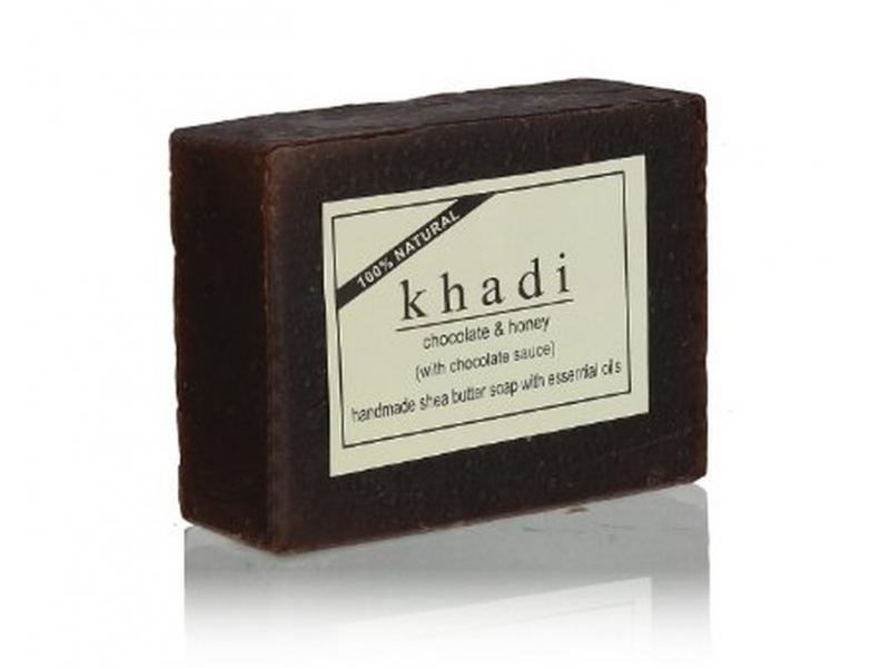 Ručně vyráběné mýdlo s esenciálními oleji, Chocolate and Honey, 100g