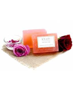 Ručně vyráběné mýdlo s esenciálními oleji, Rosewater, 125g