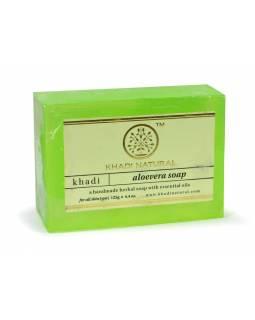Ručně vyráběné mýdlo s esenciálními oleji, Aloevera, 125g