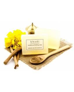 Ručně vyráběné mýdlo s esenciálními oleji, Sandalwood, 125g