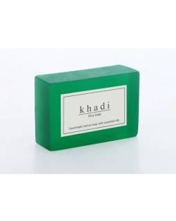 Ručně vyráběné mýdlo s esenciálními oleji, Khus, 125g