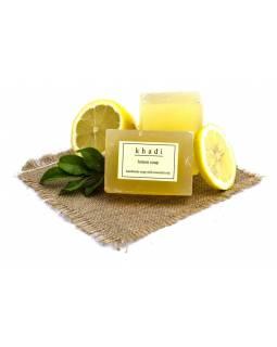 Ručně vyráběné mýdlo s esenciálními oleji, Lemon, 125g