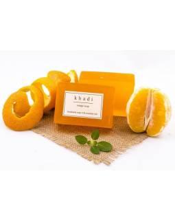 Ručně vyráběné mýdlo s esenciálními oleji, Orange, 125g