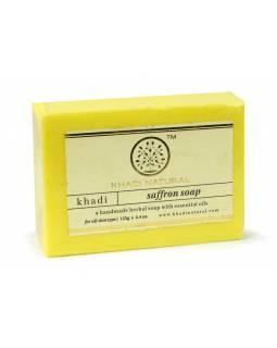 Ručně vyráběné mýdlo s esenciálními oleji, Saffron, 125g