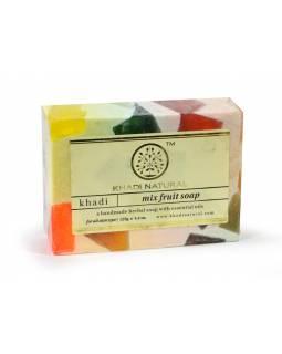 Ručně vyráběné mýdlo s esenciálními oleji, Mix Fruit, 125g