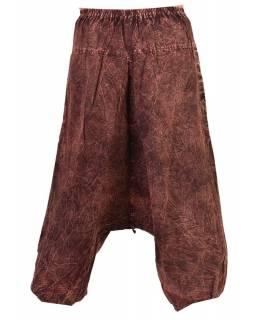 Delší sukně s potiskem, patchwork design, tyrkysová, vázačka