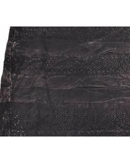 Krátká sukně  zapínaná na zip, tmavá, stonewashed design