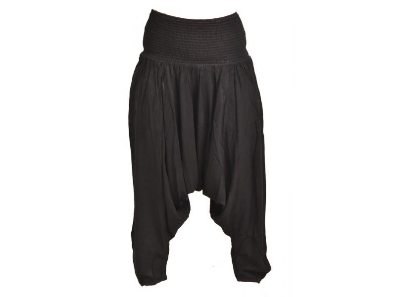 Černé turecké kalhoty