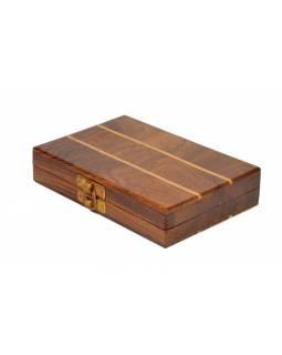 Dřevěné šachy na cesty, 15x10x3,5cm