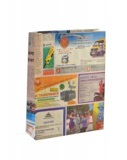 Papírová taška, noviny, 34x26cm