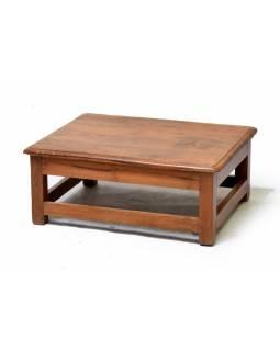 Čajový stolek z teakového dřeva, 72x58x28cm