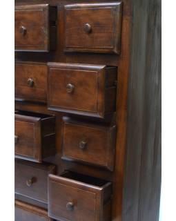 Šuplíková komoda z teakového dřeva, 65x160x40cm
