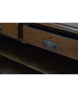Komoda z teakového dřeva, 90x40x104cm