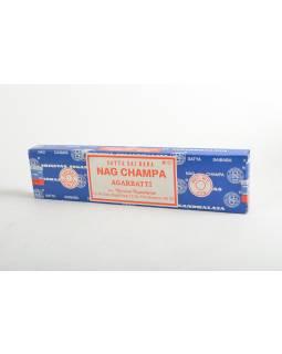 Indické vonné tyčinky Sai Baba Nag Champa, 22cm, 40g