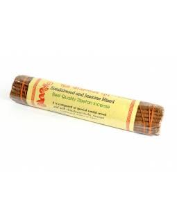 Tibetské vonné tyčinky Sandalwood & Jasmine Mixed
