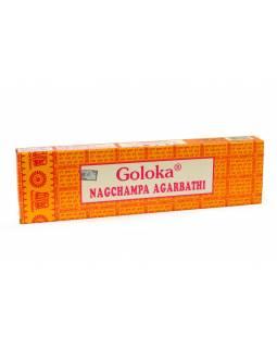 Indické vonné tyčinky Goloka Nagchampa, 100g